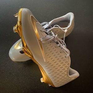 Nike Vapor Baseball Cleats Limited Edition Gold